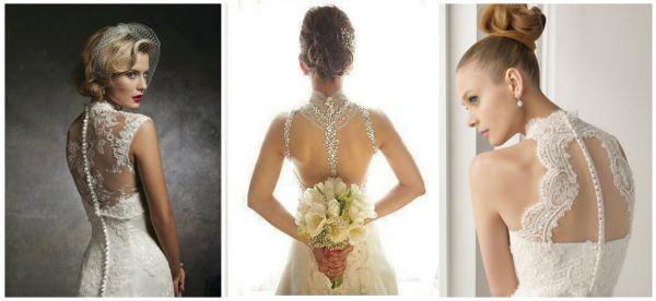 Платье кружевная спинка