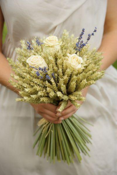 Букет из колосьев пшеницы своими руками 417