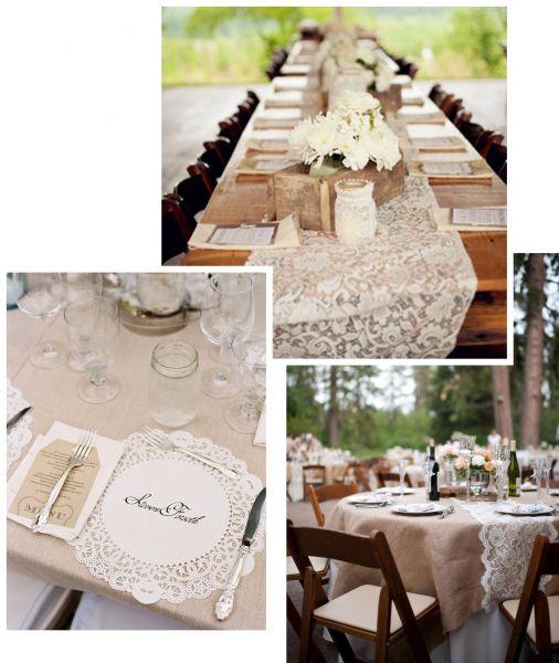 Оформление, декор свадебного стола. Праздничный стол. Кружевная свадьба