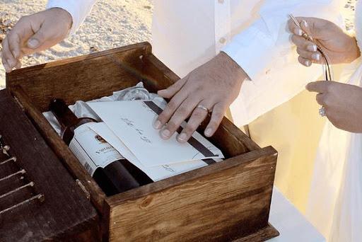 Церемония для свадьбы: «Сундук единства и любви»