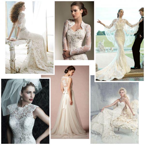Свадебное платье. Платье с кружевами. Кружевная свадьба