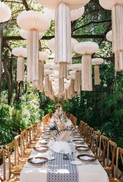 Тренды в свадебном декоре 2020