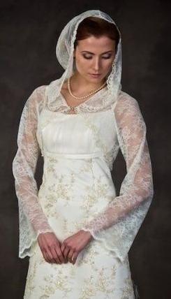 Платье для венчания. Наряд для венчания
