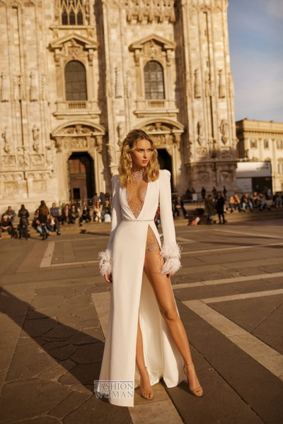 УДИВЛЯТЬ И ВОСХИЩАТЬ! Модные свадебные платья сегодня