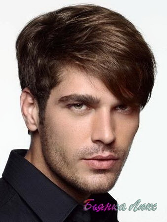 мужские причёски с челкой фото