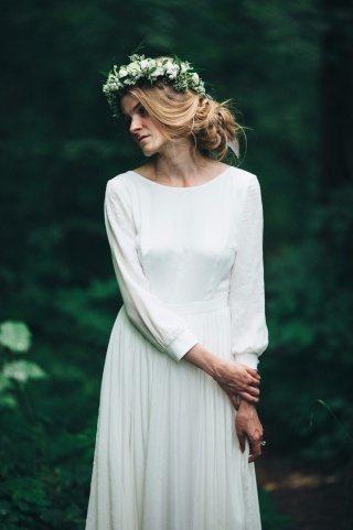 Образ невесты в стиле «минимализм»