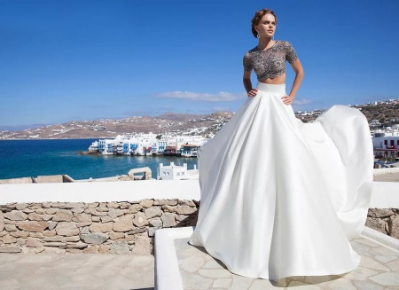 платье на свадьбу вечернее фото