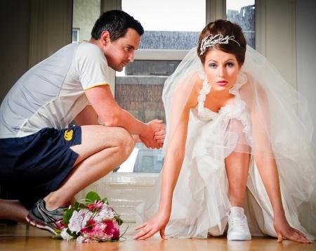 Невеста дала перед свадьбой согласен