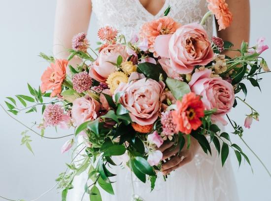 Букет невесты в весенне-летний сезон