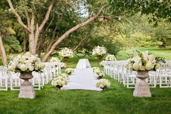 Connecticut outdoor wedding