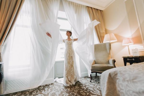 утро жениха и невесты фото