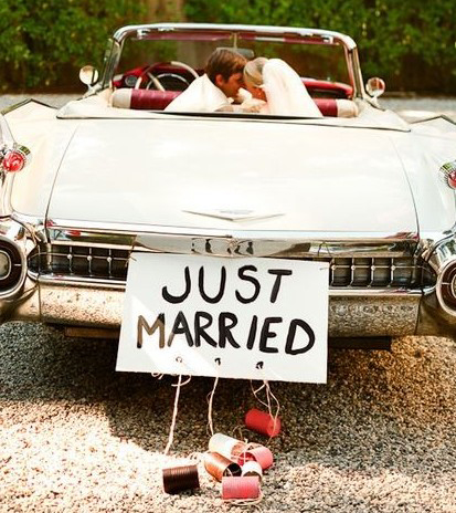 Just married blog