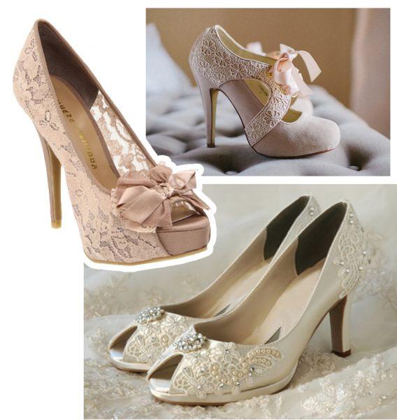 Свадебные туфли. Обувь на свадьбу. Кружевная свадьба