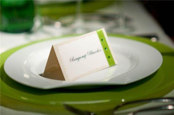 Таблички с именами гостей на стол своими руками