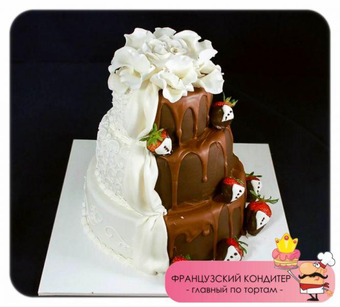 Торты в контакте свадебные