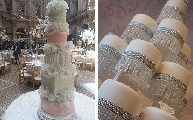 Самые красивые свадебные торты на подставках